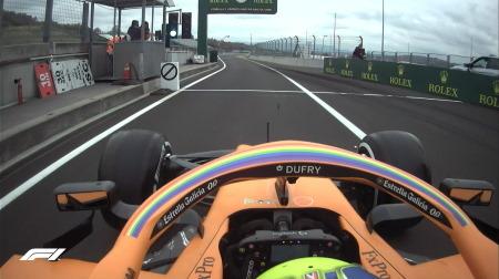 2020年F1第3戦ハンガリーGP、FP1結果