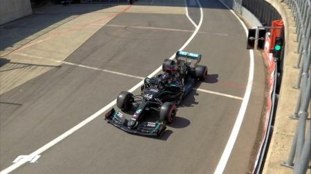 2020年F1第4戦イギリスGP、FP1結果