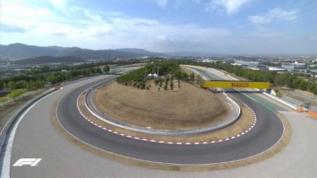 2020年F1第6戦F1 スペインGP、FP1結果