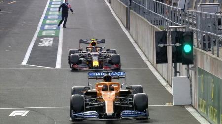 2020年F1第7戦F1 ベルギーGP、FP1結果