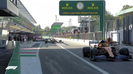 2020年F1第8戦F1 イタリアGP、FP1結果
