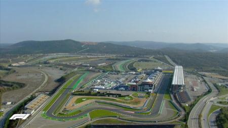 2020年F1第14戦F1トルコGP、FP1結果