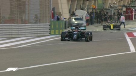 2020年F1第16戦F1サクヒールGP、FP1結果