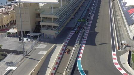 2020年F1第17戦F1アブダビGP、FP1結果