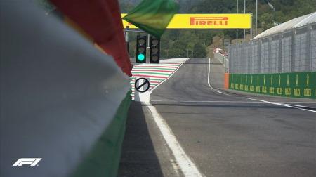 2020年F1第9戦F1 トスカーナGP、FP2結果