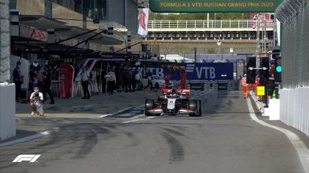 2020年F1第10戦F1ロシアGP、FP2結果
