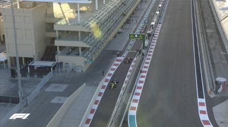 2020年F1第17戦F1アブダビGP、FP2結果