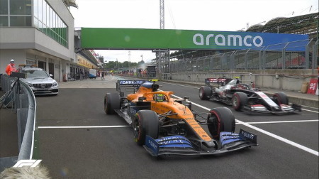 2020年F1第3戦ハンガリーGP、FP3結果