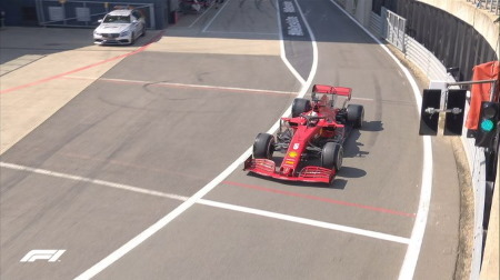 2020年F1第5戦F1 70周年記念GP、FP3結果