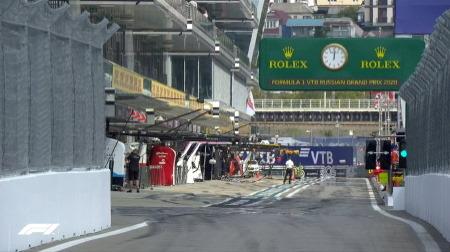 2020年F1第10戦F1ロシアGP、FP3結果