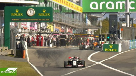 2020年F1第11戦F1アイフェルGP、FP3結果