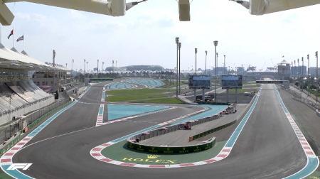 2020年F1第17戦F1アブダビGP、FP3結果