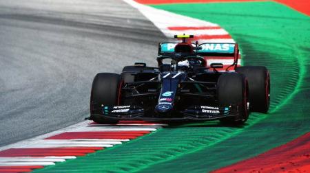 2020年F1第1戦 オーストリアGP、PPはボッタス
