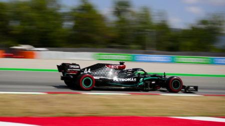 2020年F1第6戦 スペインGP、PPはハミルトン