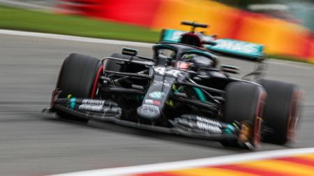 2020年F1第7戦 ベルギーGP、PPはハミルトン