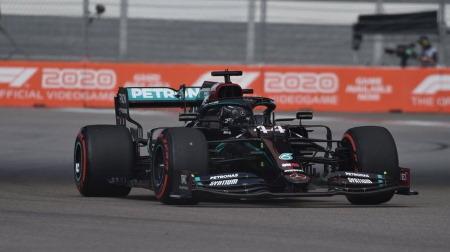 2020年F1第10戦 ロシアGP、PPはハミルトン