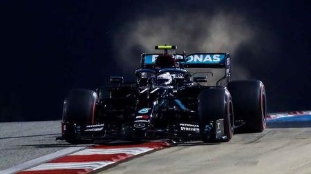 2020年F1第16戦 サクヒールGP、PPはボッタス