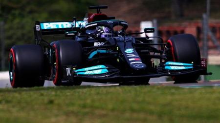 2021年F1第2戦 エミリア・ロマーニャGP、PPはハミルトン