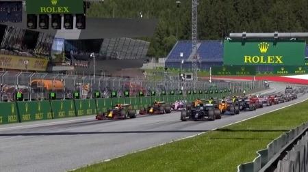 2020年F1開幕戦のスタート