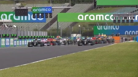 2020年F1第3戦のスタート