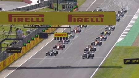2020年F1第4戦のスタート