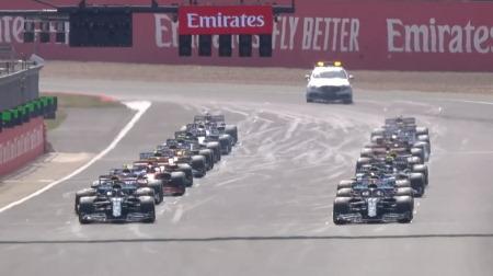 2020年F1第5戦のスタート