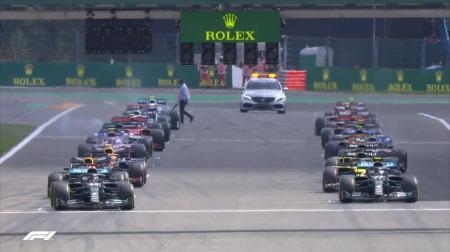 2020年F1第7戦のスタート