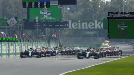 2020年F1第8戦のスタート