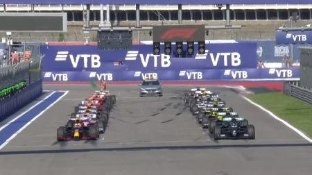 2020年F1第10戦のスタート