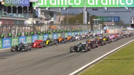 2020年F1第11戦のスタート