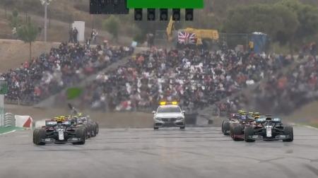 2020年F1第12戦のスタート
