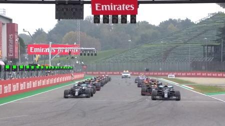 2020年F1第13戦のスタート