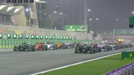 2020年F1第16戦のスタート