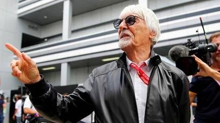バーニー、F1前面中止を訴える