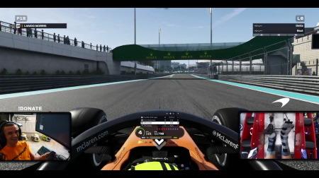 ノリス、現役F1ドライバーがF1公式ゲーム「F1 2019」をやらない理由を説明