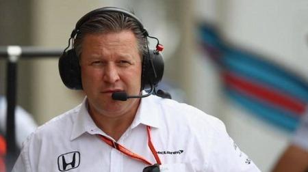 マクラーレンのザク・ブラウン、フェラーリとレッドブルを非難