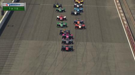 インディカー iRacing Challenge第4戦結果