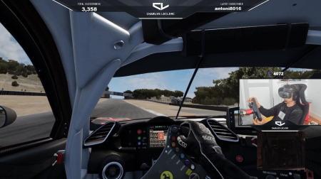 ルクレール、VR配信を開始