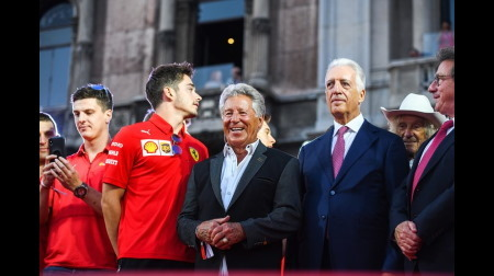 元F1王者マリオ・アンドレッティ、フェラーリのインディカー参戦に期待