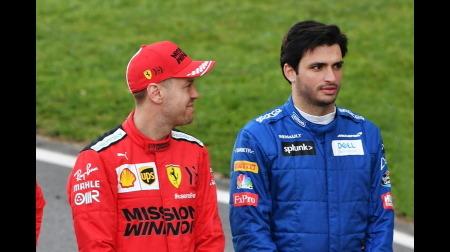 サインツ、ベッテルの後任としてフェラーリ加入へ