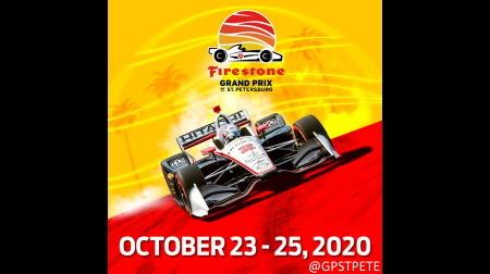 2020インディカーは10月末のSt.ピーターズバーグでフィナーレ