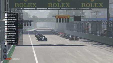ラッセル、F1バーチャルGPで3連勝