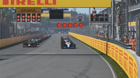 F1バーチャルGP最終戦はラッセル勝利でタイトル獲得