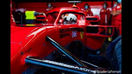 フェラーリ、アルファタウリがテスト