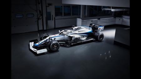 ウィリアムズFW43新カラーリング