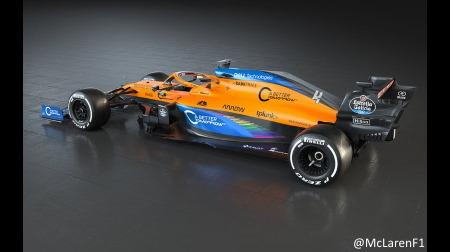 マクラーレンが新カラーリング、多様性を求めるF1の運動に賛同
