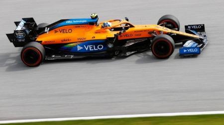 マクラーレンのノリス、値千金のフロントロー@F1オーストリアGP