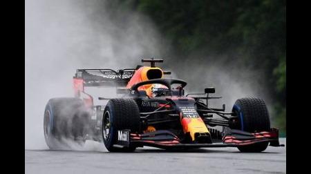 レッドブルのフェルスタッペン、順調なスタートにならず@F1ハンガリーGP