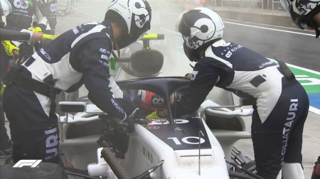ガスリー、ドライブトレインの問題でレースを棒に@F1ハンガリーGP
