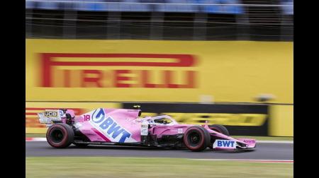 レーシングポイント、レーストリムでは3番目に落ちる@F1ハンガリーGP